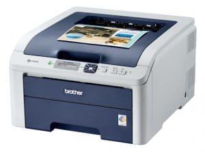 Exemple d'imprimante laser