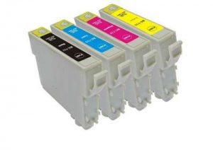 Cartouches d'encre imprimante jet d'encre