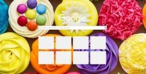Cupcakes pour Google chrome