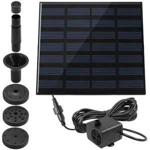 Kit solaire pour fontaine ou bassin