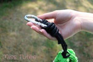 Mousquetons et cordes solides