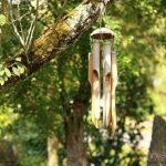 Carillon en bois pour le jardin