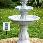Grande fontaine solaire