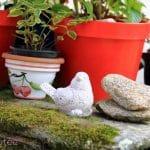 Oiseau déco jardin