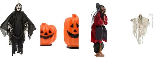 Déco Halloween : citrouilles, fantômes et sorcières