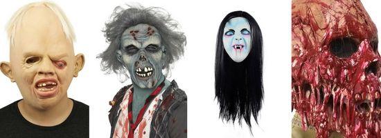 Des masques à faire peur pour Halloween