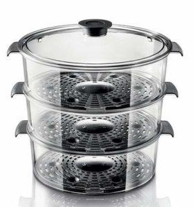 Capacité bols cuiseur vapeur