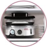 Bols empilables du cuiseur vapeur Seb VC111600 Simply Invent 3B BPA Free