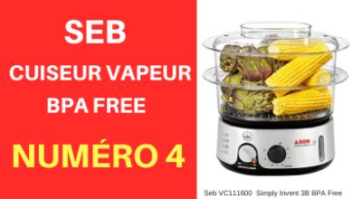 Cuit vapeur Seb BPA FREE