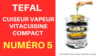 Cuiseur vapeur marque Tefal VS4003 Cuiseur vapeur Vitacuisine Compact