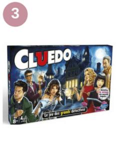 Célèbre jeu de société Cluedo