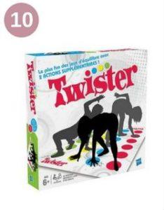 Jeu de société : Twister