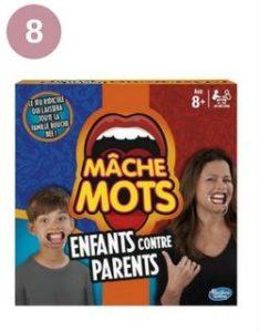Mâche mot : jeu enfants contre parents