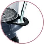 Système remplissage d'eau sur cuiseur vapeur Philips HD9170/91 Cuit Vapeur Avance Noir 1350 W