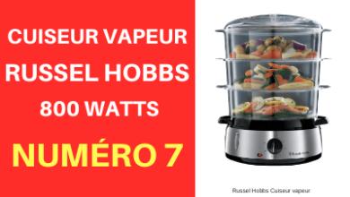 Cuiseur vapeur de la marque Russel Hobbs petit prix