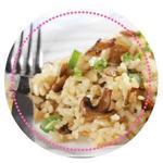 Recette au cuiseur vapeur Magimix : risotto champignons