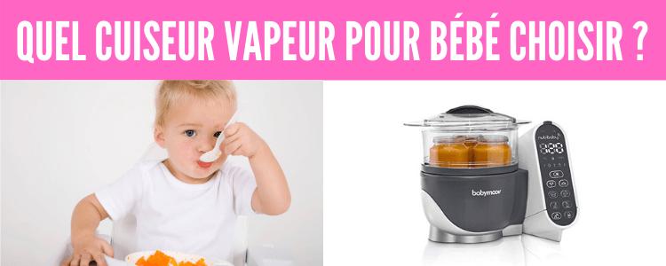 Quel cuiseur vapeur pour bébé choisir ?