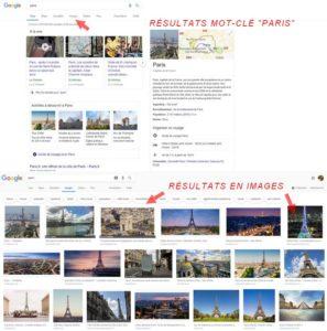 Recherche sur Google Images