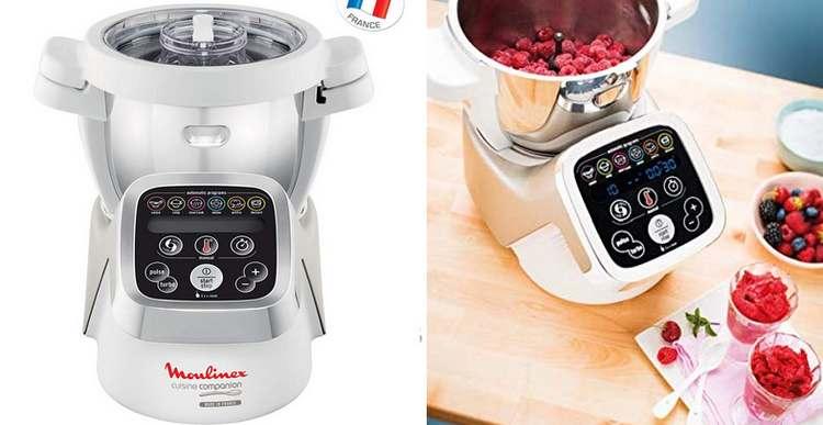 Toutes les fonctionnalités du robot cuiseur vapeur companion