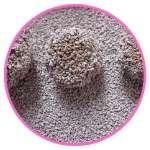 Nettoyage facilité grâce aux boulettes formées par la litière agglomérante