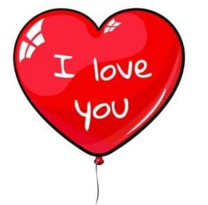 Cadeaux St-valentin pour homme : cœur rouge