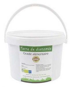 Pot de terre de diatomée de 2 kg