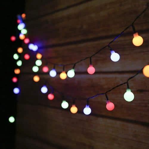 Guirlande lumineuse couleur