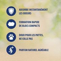 Catsan natural litière végétale à base de dérivés de blé