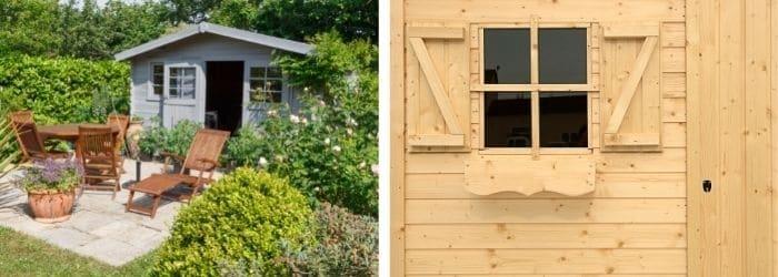 Un abri de jardin design et pratique